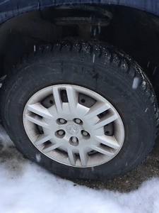 Studded Winter Tires 215/70R15