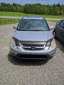 2002 Honda CR-V Exl VUS urgent price drop