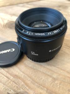 Canon EF 50mm F1.8 AF II