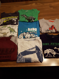 Boys long sleeve shirts size 8