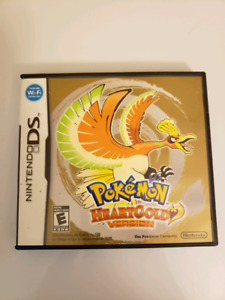 Pokemon Heartgold Nintendo w