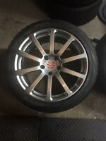 "VICTOR EQUIPMENT ZEHN 20""WHEELS PIRELLI SCORPION ICE & SNOW"