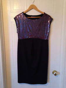 Jules and Jim maternity evening dress gown medium