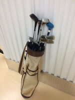 Older Cooper Golf Bag with Older Clubs. Orleans Pick up.