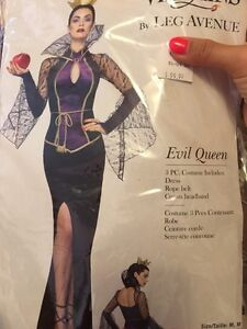 "Evil queen costume ""pre owned"""