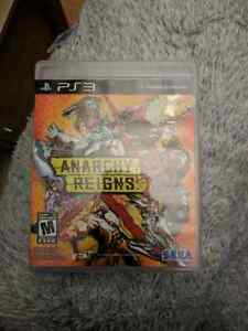 Anarchy reigns for ps3