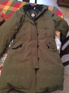 Olive Green Canada Goose Jacket
