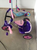 Little girls tricycle