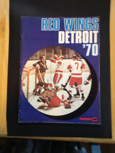 Detroit Red Wings Yearbook 1970