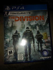 PS4 TOM CLANCYS THE DIVISIONS VIDEO GAME