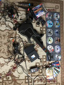 PLAYSTATION 2 (PS2) CONSOLE WITH TONS OF ACCESSORIES AND GAMES!