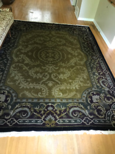 Indo-Nepal Hand Knotted Wool Area Rug - NEW Price Drop