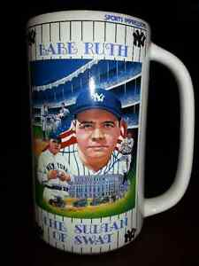Babe Ruth Beer Stein/ Lunch Box