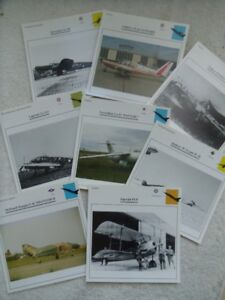VARIOUS COLLECTION OF VINTAGE AIRPLANES PHOTOS.