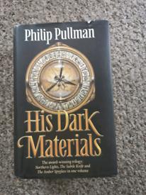 Philip Pullman His Dark Materials Trilogy collection Hardback Book