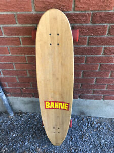 """Bahne Wooden Longboard 44"""" long !  Really good condition! Free d"""