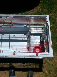 Extra-large critter cage.