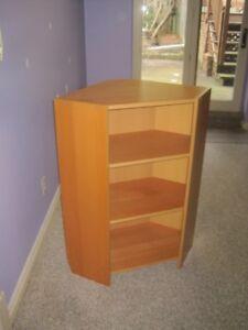 Ikea Corner Bookcase / Shelving Unit