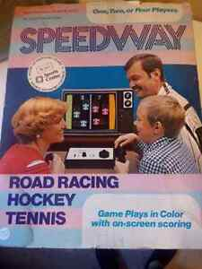New in original box Sears Speedway Tele-Games system rare
