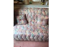 Floral Sofa Bed