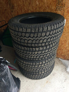 LT275/65r18 winter tires for sale
