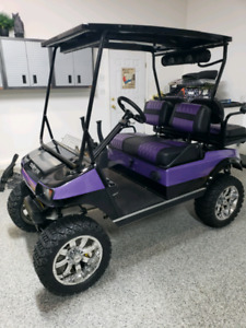 Fully Customized Gas Golf Cart