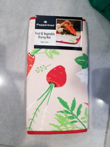 Brand new fruit and vegetable drying mat Rangeville Toowoomba City Preview