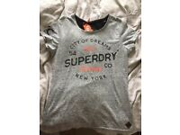 Ladies Superdry Tshirt Large