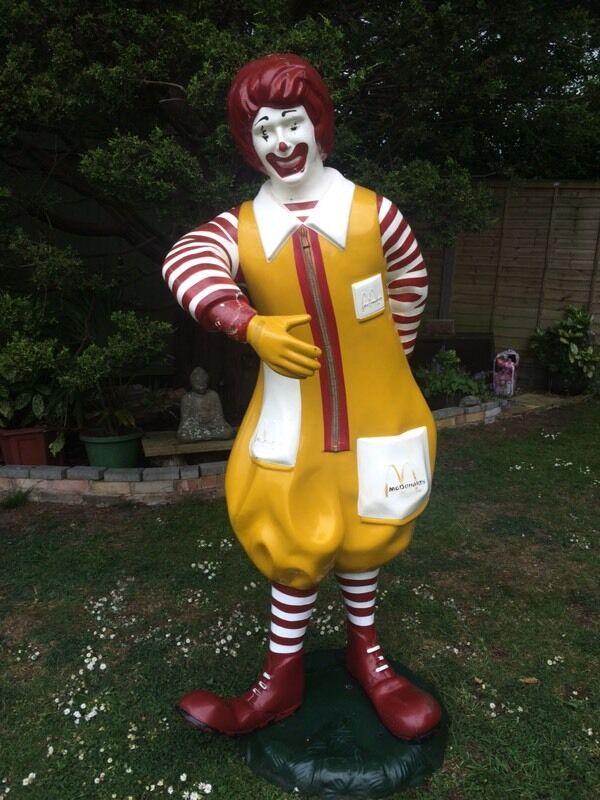 Original Ronald Mcdonald Statue Circa Late 1970 S In