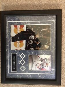 FRAMED SHAWN HORCOFF PICTURE/PLAYER CARD