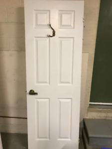 """28"""" x 80"""" Interior 6 Panel Door"""