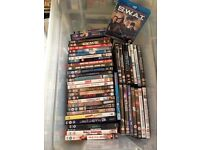 Job lot of DVDs, Blu-Ray & VCR films