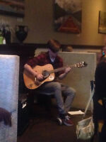 Musician availiable for background music at resturants, cafe's,