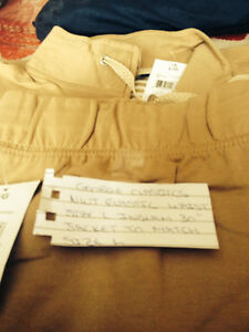 George Ja et and Pants Beige $10.00 both pieces