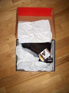 Brand new, unused Wolverine steel toe work boots, tags still on