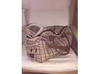 Wainwrights Burberry Dog Carrier