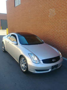 2006 Infiniti G35 Coupe //Reverse Parking Cam + EXTRA'S // $6499