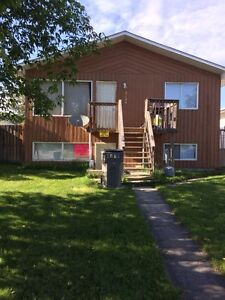 Up and down duplex basement in whitecourt for rent