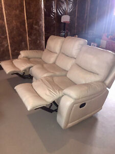 Genuine Leather Couch for Sofaland