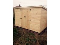 Brand new 10x8 shed for sale 599