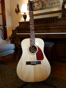 Fender CD160SE 12-String Acoustic/Electric Guitar