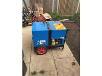5 kva generator propane gas clean burn for catering burger van or market stall etc