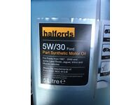 Engine oil 2.5ltrs aprox