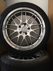 FAST Wheels with tires for Mazda RX8