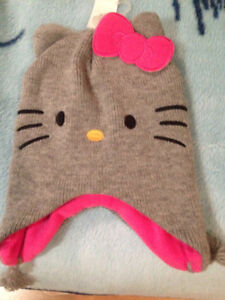 Tuque neuve Hello Kitty Tuque Gr/ Sz Large Brand new