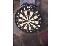 Traditional dart board
