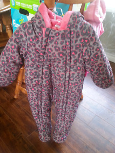 6-12months snow suit and sweater