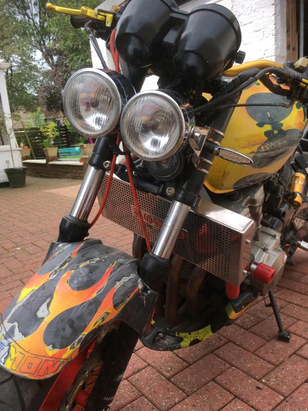 Kit cutting for Hornet 600 (2011-2013)