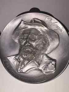 Degrazia Pewter Plate
