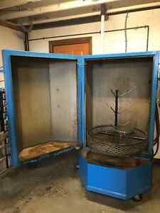 Aqueous Parts Washer, model T-0100-MIDI Used a handful of times